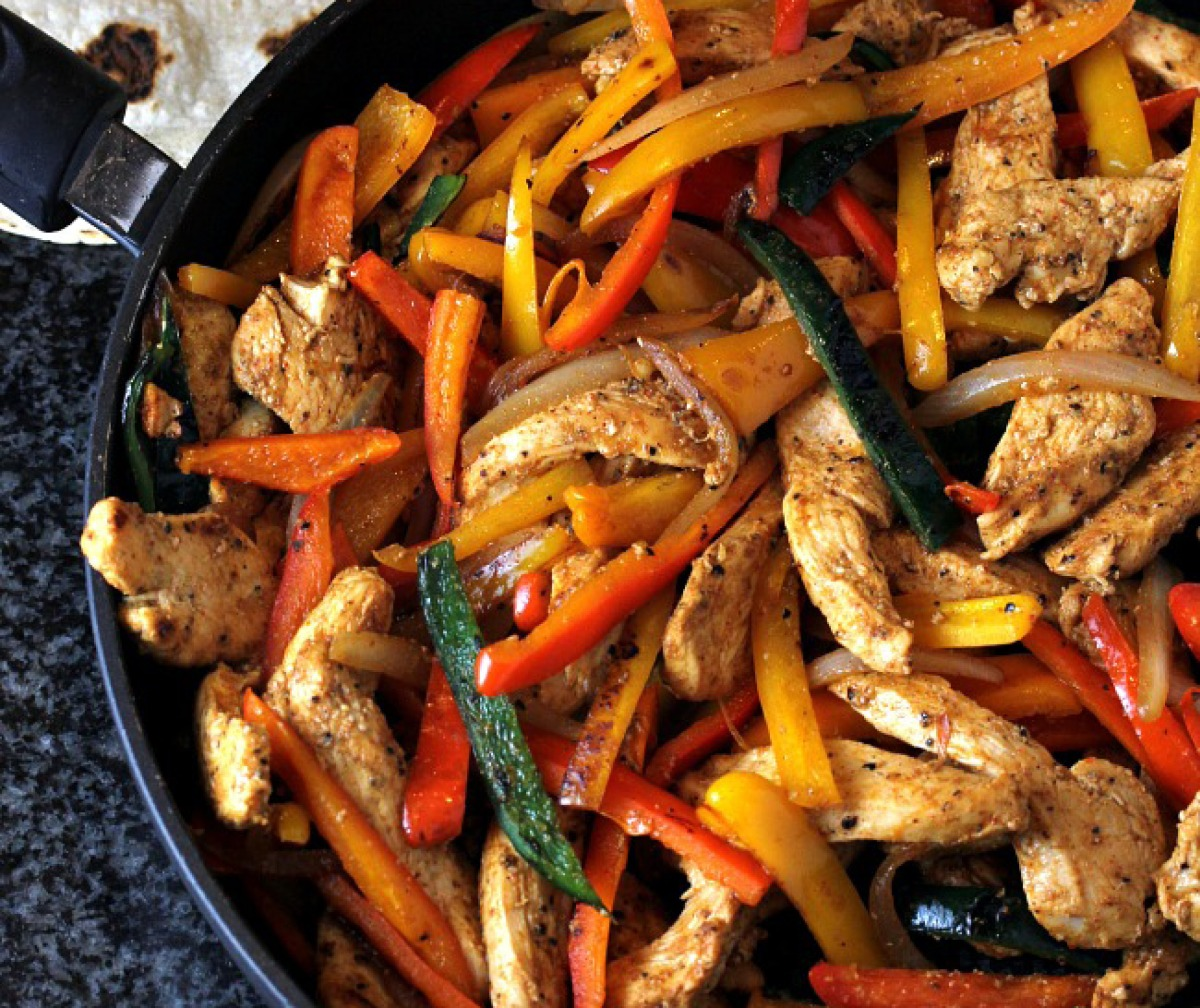 Recipe: Easy Chicken Fajitas
